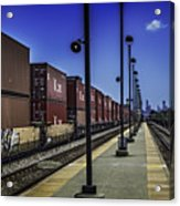 Train From Chicago Acrylic Print