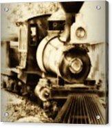Train Keeps A Rolling Acrylic Print