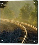 Train Lines Acrylic Print