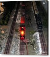 Train Set Acrylic Print