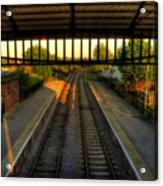 Train Station Acrylic Print