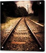 Train Tour Of Darkness Acrylic Print