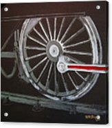 Train Wheels 2 Acrylic Print
