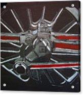 Train Wheels 3 Acrylic Print