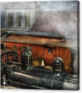 Train - Yard - The Train Yard II Acrylic Print