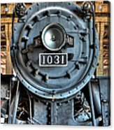Trains - Steam Locomotive 1031 Acrylic Print