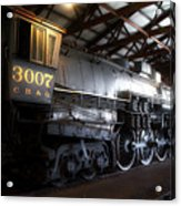 Trains 3007 C B Q Steam Engine Acrylic Print