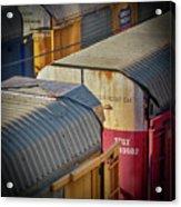 Trains - Nashville Acrylic Print