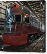 Trains North Shore Line Electroliner Sc Acrylic Print