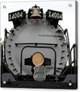 Trains Union Pacific Big Boy 4004 Front End Acrylic Print
