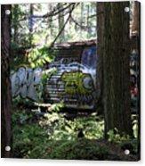 Trainwreck Monster Acrylic Print