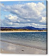 Tramore Beach Donegal Acrylic Print