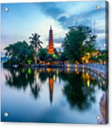 Tran Quoc Pagoda Acrylic Print