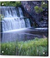 Tranquil Falls Acrylic Print