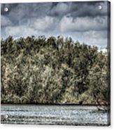 Tranquil Fishing Spot  Acrylic Print