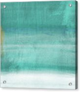 Tranquil Horizon- Art By Linda Woods Acrylic Print