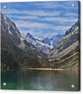 Tranquil Mountain Lake Acrylic Print
