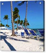 Tranquility Bay Beach Paradise Acrylic Print