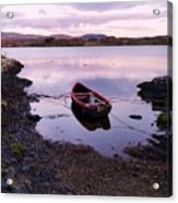 Tranquility In County Galway Acrylic Print