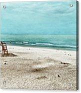 Tranquility On Tybee Island Acrylic Print