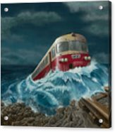 Trans Europe Express Acrylic Print