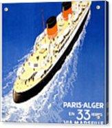 Transatlantic Ocean Liner Acrylic Print