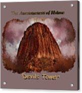Transcendent Devils Tower 2 Acrylic Print