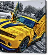 Transformers Bumble Bee 2 Acrylic Print
