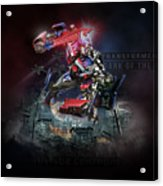 Transformers Dark Of The Moon Acrylic Print