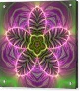 Transition Flower Acrylic Print