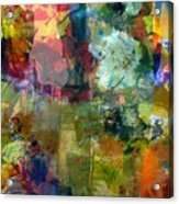 Transparent Layers Two Acrylic Print