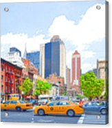 Transportation In New York 8 Acrylic Print