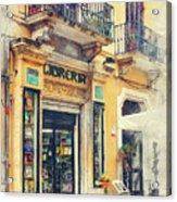 Trapani Art 21 Sicily Acrylic Print