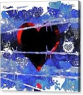 Trapped Heart Acrylic Print