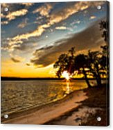 Trapped Sunset Acrylic Print