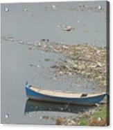 Trashy River Acrylic Print