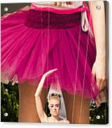 Travel Down Your Own Road And Dance To Your Own Beat Acrylic Print