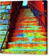 Travel-exorcist Steps Acrylic Print