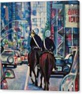 Travel Notebook. New York. Third Day Acrylic Print