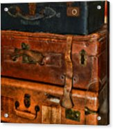 Travel - Old Bags Acrylic Print