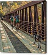 Travel The Buttermilk Trail Acrylic Print