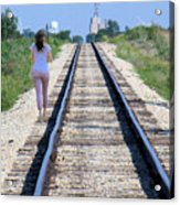 Travel With A Purpose  Acrylic Print
