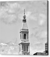 Travelers Tower - Hartford Connecticut Acrylic Print