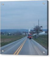 Traveling Home After Easter Monday Gatherings Acrylic Print