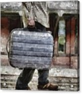 Traveling Man Acrylic Print