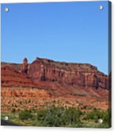 Traveling On Highway 163 Acrylic Print