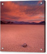 Traveling Stone Acrylic Print