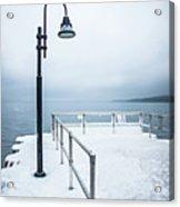 Traverse City Michigan Scenery Around On Lake Michigan Acrylic Print