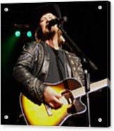 Travis Tritt Country Music Singer Acrylic Print