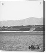 Trawling Monterey Acrylic Print